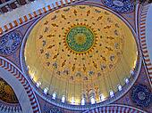 Gold dome ceiling