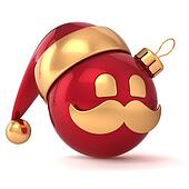 Christmas ball avatar New Year icon
