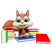 Squirrel is studying