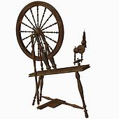 Spinning Wheel Dark