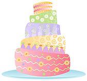 Birthday Cake - Isol