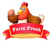 A poultry label