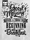 Poster Good morning coal