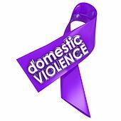 Domestic Violence Purple Awareness Ribbon End Family Spousal Abu