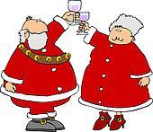 Claus toast
