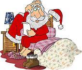 Santas bed