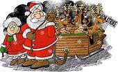 Reindeer strike