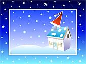 Christmas chimney