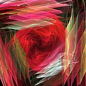 Rose petal layers