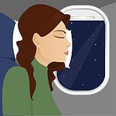 Window Seat Sleeping