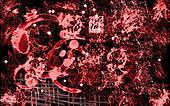 Red Splattered