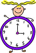clock kid