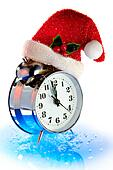 Christmas countdown of time
