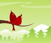 Cozy Cardinals