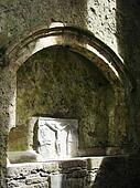 tomb in church