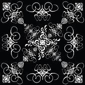 flower tile gothic 4