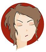 Expressions Icon: Angry