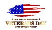 logo veterans day of usa