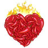 Heart From Pepper