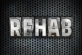 Rehab Concept Metal Letterpress Type