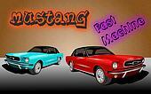 Fast machine Mustang