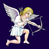 Stock illustration of Cupid