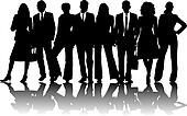 ... Office Outline People Person Pose Retro Sexy Shadow Shape Stock Photos