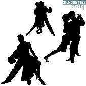Silhouettes Dance 01