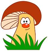 comic mushroom