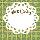 home cooking poster