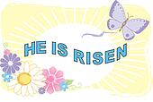 He Is Risen Illustra