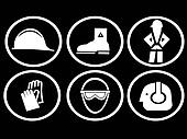 construction site safety symbols