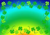 Four leaf clover and