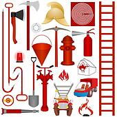 Fire equipment, tools and accessories