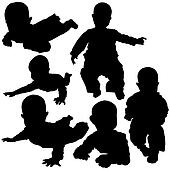 Silhouettes - Baby 2