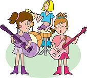 Girly Rock Band