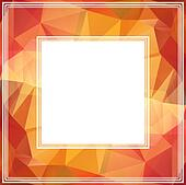 abstract brown border