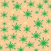 green pattern paper
