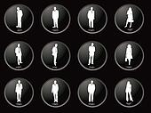 blackberry buttons business men