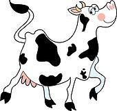 Cow Prancing