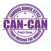 Can-Can stamp