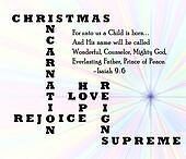 Christmas Incarnation card