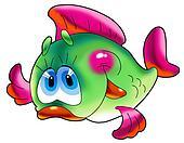 Cheerful fish.