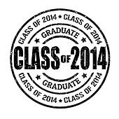 Class of 2014 stamp