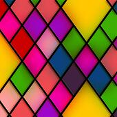 Stained Glass Diamonds