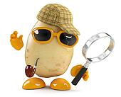 3d Sherlock potato