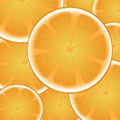 Citrus orange background