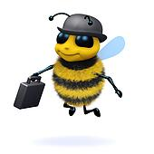 3d Business bee