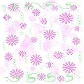 pink flowers wrap