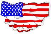 American handshake